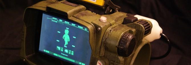 Не хватило Pip-Boy из Fallout 4? Напечатай на 3D-принтере собственный!