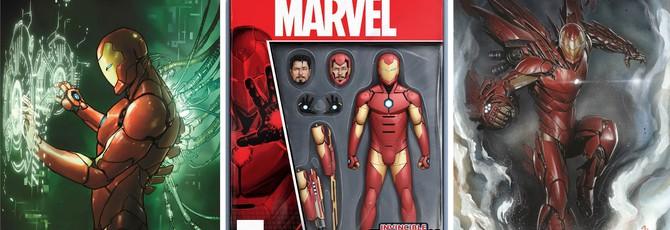 Взгляд на новый костюм Железного Человека
