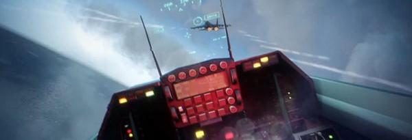 Истребитель в павильоне Battlefield 3 на gamescom