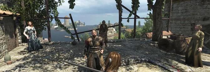 Осадные орудия, местность и другое на видео Mount & Blade 2