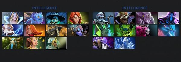 Скриншоты меню DOTA 2