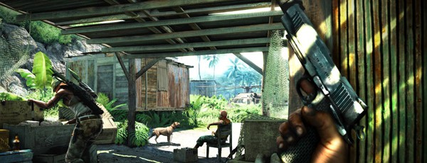 Скриншоты Far Cry 3 c gamescom 2011