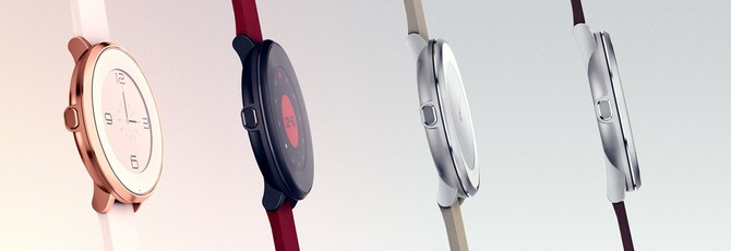 Pebble представила новые круглые часы
