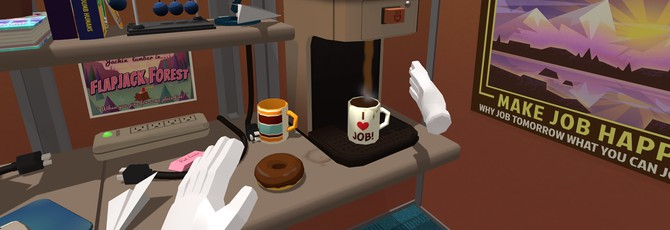 Тизер Office Worker для Job Simulator