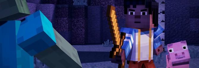 Первый геймплей Minecraft: Story Mode