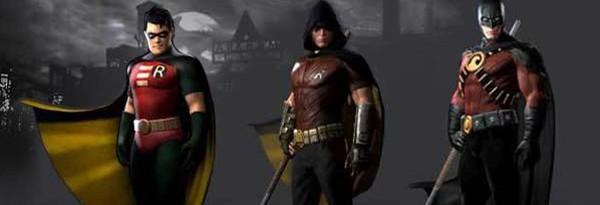 Скины Робина в Batman: Arkham City