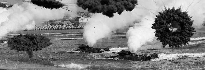 Как морские пехотинцы США будут высаживаться на пляж в случае активной войны