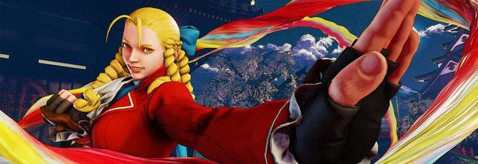 Геймплей Street Fighter 5 в 4K