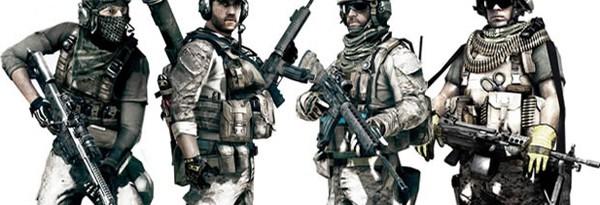 Высококачественные принты классов Battlefield 3