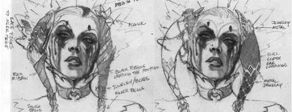 Концепты персонажей Batman: Arkham City