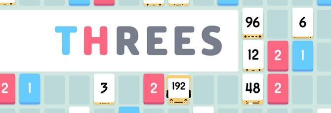 Threes! стала бесплатной браузерной игрой
