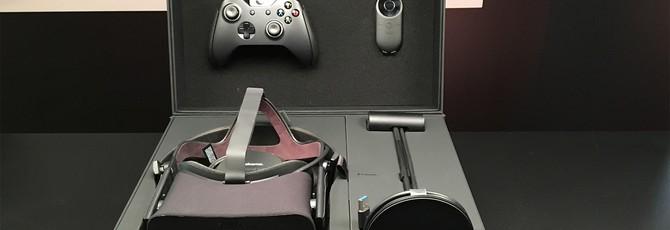Фотографии полного комплекта Oculus Rift