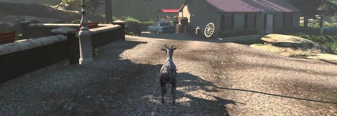 Goat Simulator получил DLC от Payday 2