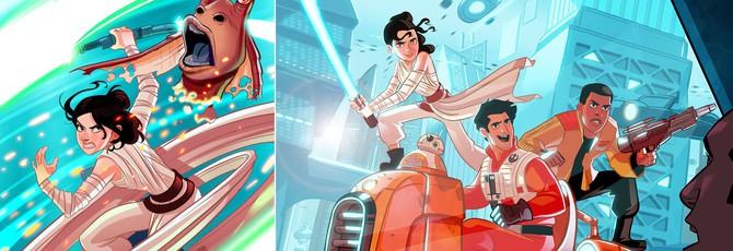 Отличный фанатский комикс Star Wars 7.5