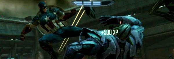 Геймплей замороженного тайтла Avengers