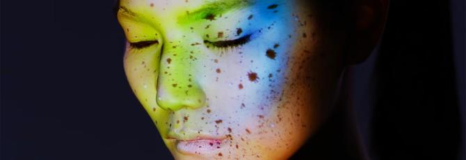 Гипнотизирующая лицевая проекция