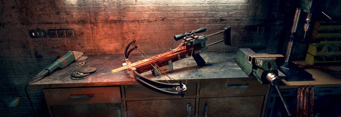Арбалет Half-Life 2 — один из лучших видов оружия в играх