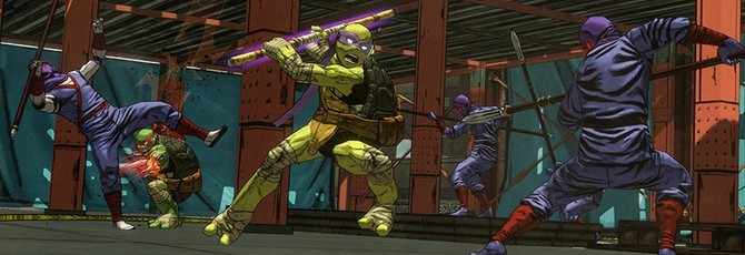 11 минут геймплея Teenage Mutant Ninja Turtles: Mutants in Manhattan