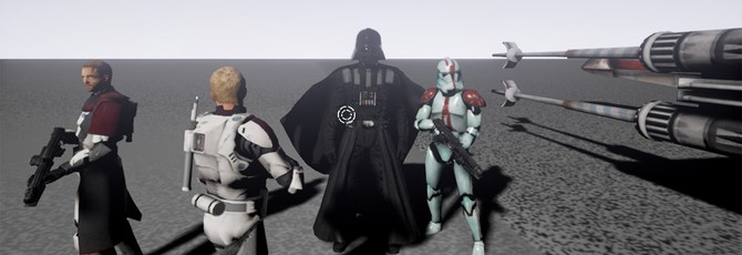 Star Wars: Galaxy in Turmoil — фанатский Star Wars: Battlefront III