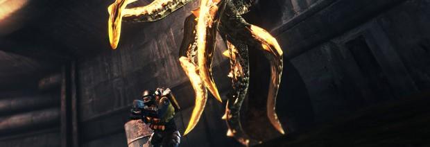 Гигантский осьминог в Lost Planet 2