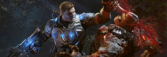 """Одинокая """"экранка"""" Gears of War 4"""