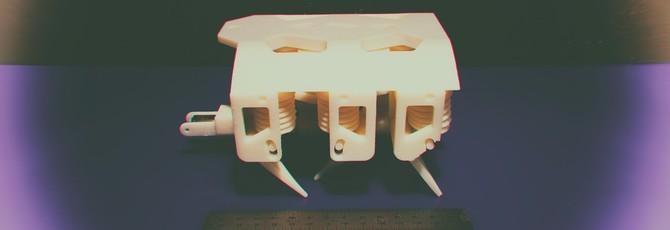 Эти милые печатные гидравлические роботы