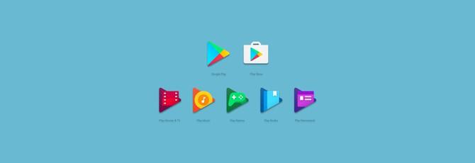 Новые иконки Play-сервисов от Google