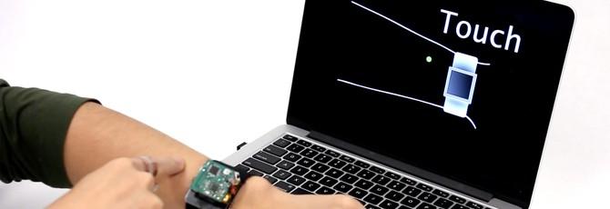 С этим кожным интерфейсом, умные часы будут не такими унылыми