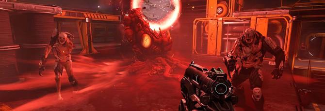 Геймплей Doom на Vulkan API и Titan X