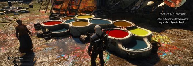 Гайд The Witcher 3: Кровь и Вино — как красить броню Ведьмака, где найти краски