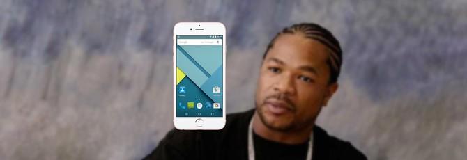 В iPhone встроили чехол с Android