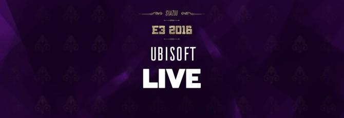 E3 2016: Конференция Ubisoft в прямом эфире