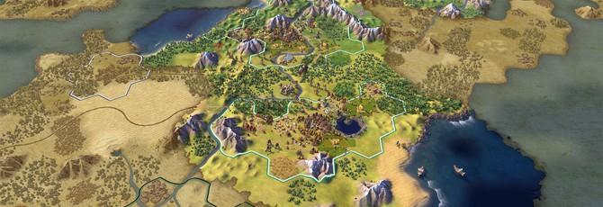 10 минут чудного геймплея Civilization VI