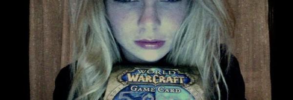 Эта девушка очень хочет в фильм World of Warcraft