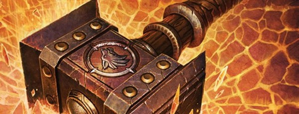 Реальный Молот Рока из World of Warcraft