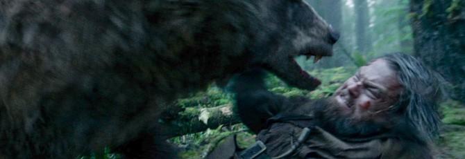Адам Сэведж нарядился медведем из Revenant на Comic-Con 2016