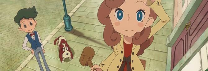 Lady Layton продолжит серию пазлов от Level-5 на 3DS и мобильных платформах