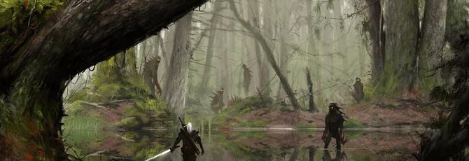 Потрясающие арты по Ведьмаку от Якуба Розальски