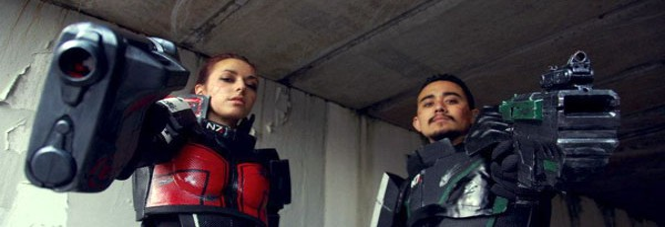 Первые отрывки из фанатского фильма Mass Effect