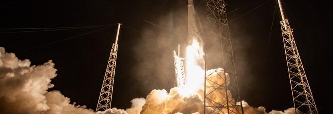 Замедленная съемка ракет Falcon 9 от SpaceX