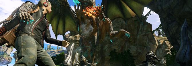 Вы сможете управлять своим драконом в Scalebound