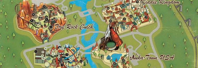 Вся карта парка Nuka-World из нового DLC Fallout 4