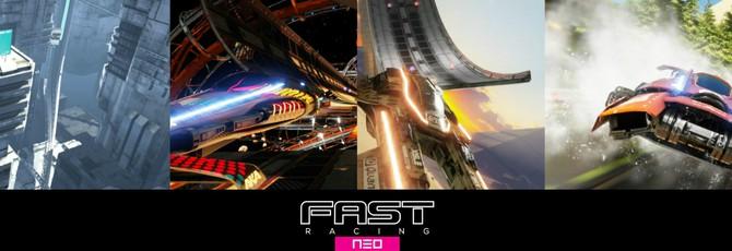 Fast Racing Neo: 13 минутная демонстрация Neo Future DLC Pack