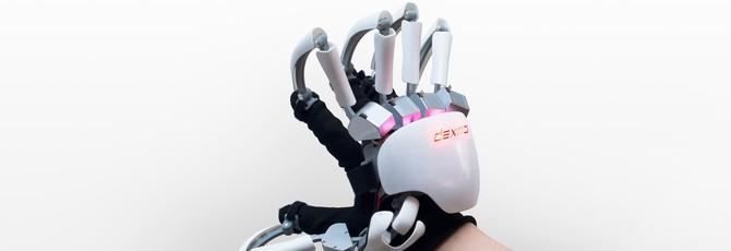 VR-перчатки Dexmo позволят вам щупать виртуальную грудь