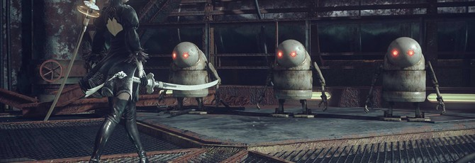 NieR: Automata выходит в феврале