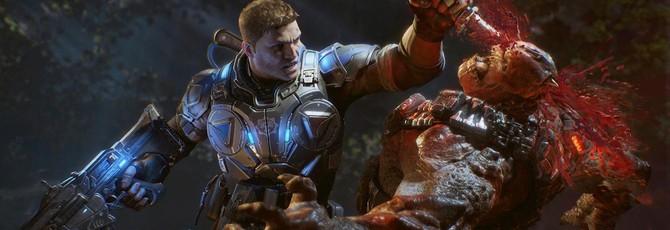 Gears of War 4 ушла на золото