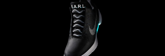 Самозавязывающиеся кроссовки Nike выходят в ноябре