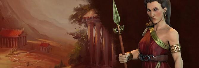 Второй лидер Греции в Civilization VI — Горго