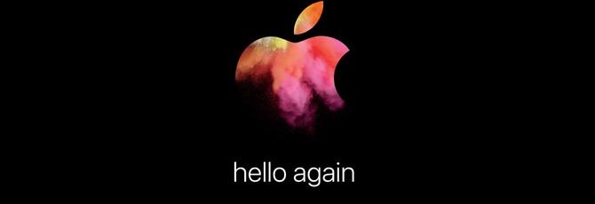 Приглашение Apple на презентацию 27 октября