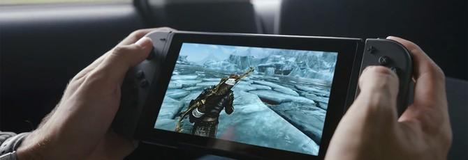 Слух: Skyrim и новая игра Mario среди релизных тайтлов Nintendo Switch
